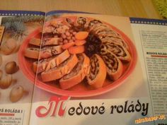 Fantastické medové rolády Waffles, Breakfast, Food, Morning Coffee, Eten, Waffle, Meals, Morning Breakfast, Diet
