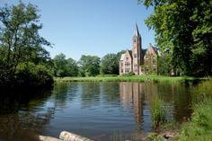 Kasteelbossen: 19de-eeuwse doolhof aan het Kasteel van Loppem + kijkboerderij