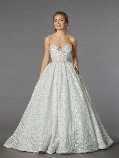 Kleinfeld Bridal | Behind the Seams | Dazzling Savings on Pnina Tornai Sample Gowns, April 22!--- mine!!!