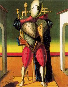 Rene Magritte — artist-dechirico:   A troubadur via Giorgio de...