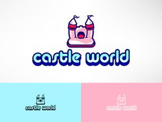 Jumping Castle Hire Business Needs a Logo Design Playful, Colorful Logo Design by STierney