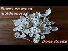 Hand Embroidery Designs, Embroidery Stitches, Cold Porcelain Tutorial, Plaster Art, Slab Pottery, Paperclay, Clay Flowers, Salt Dough, Air Dry Clay