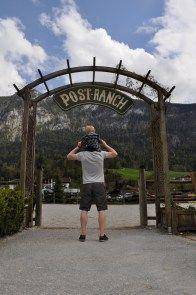 Streichelzoo im Kinderhotel Post in Unken/Salzburg/Österreich - Familienurlaub