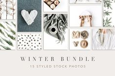 Winter Bundle by Floral Deco on @creativemarket Social media creative design posts for promotion marketing design templates. Use it for quotes, tips, photos, etiquette, ideas, posts or for presentation your business agency, products sales or designs. Ready to use on Instagram, Pinterest, Facebook, Twitter your Blog or Website. #socialmedia #socialmediamarketing #instagram #design #stories #post #pinterest #feminine #story
