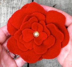 Twig and Toadstool: It's Flower Power Week...Let's make Felted Flowers!!!