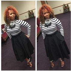 Church Attire Plus Size Work Outfits - innoke. Curvy Girl Fashion, Modest Fashion, Look Fashion, Plus Size Fashion, Autumn Fashion, Fashion Outfits, Womens Fashion, Fashion Trends, Apostolic Fashion