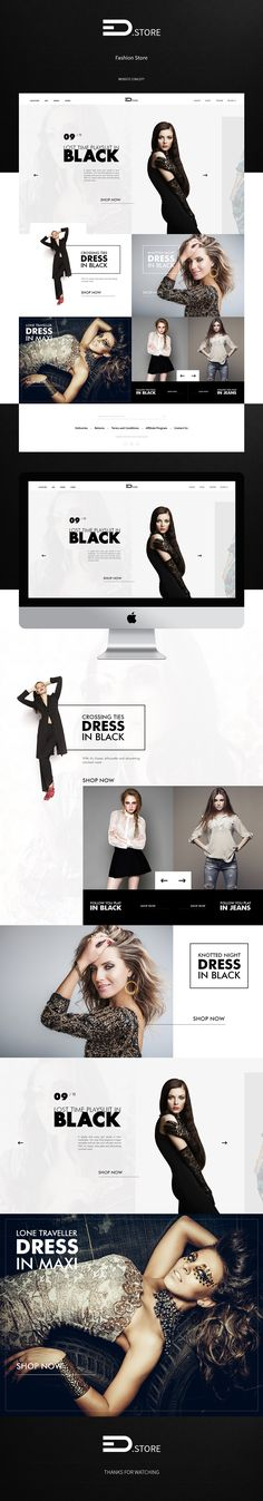 EDStore - Fashion Store on Behance