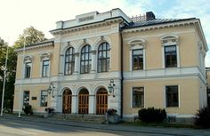 Pori Theater, Pori Finland Helsinki, Western Coast, Places To Travel, Parks, Beautiful Places, Scenery, Europe, In This Moment, Mansions