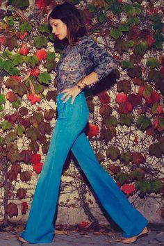 high waisted jeans = <3