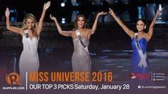 Miss Universe 2016 predictions: Our top 3 picks - WATCH VIDEO HERE -> http://philippinesonline.info/entertainment/miss-universe-2016-predictions-our-top-3-picks/   Miss International Philippines 2014 Bianca Guidotti and pageant blogger Norman Tinio talk about who they think will win on coronation night. Watch!  Follow Rappler on Social Media: Facebook – Twitter – Instagram – YouTube – SoundCloud – Google+ – Tumblr...