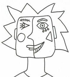 Kunst Picasso, Picasso Art, Mondrian Kunst, Piet Mondrian, Mondrian Dress, Artists For Kids, Art For Kids, Rubens Paintings, Art Paintings