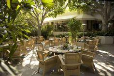 Island Hotel Patio in Newport Beach, CA