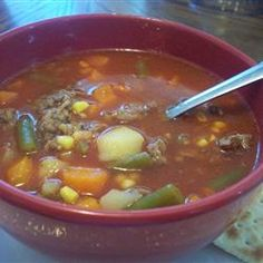 Home-Style Vegetable Beef Soup Allrecipes.com