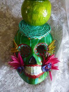 New and Unique Dia De Los Muertos art by Priscilla Daniels
