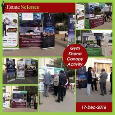 Estate Science Canopy Activity @ Gymkhana Club Gurgaon Great footfall #moretocome #EstateScience #InvestmentScientists #GymkhanaClub #Gurgaon | Pinterest ... & Estate Science Canopy Activity @ Gymkhana Club Gurgaon Great ...