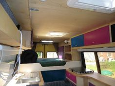 Great conversion! More pictures via the link. Van to Camper Van - close to being stealth.