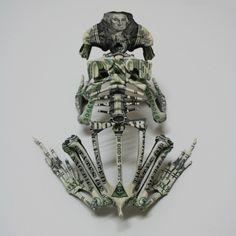 "Gurt Swanenberg's ""Sins."" Artist Gurt Swanenberg takes skeletal..."
