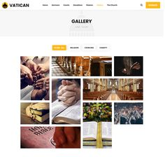 Buy Vatican - Church WordPress Theme by modeltheme on ThemeForest. Vatican is the latest WordPress Theme for Churches, Mosques or simply for Donations or Fundraising websites. Certificate Templates, Vatican, Wordpress Theme, Charity, Religion, Photo Wall, Things To Come, Gallery, Pastor