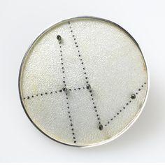 Sarah Perkins - Brooch, Cassiopea http://galerienoelguyomarch.com/?avada_portfolio=sarah-perkins-br1