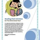 Reading Club or Book Club Activities for the Entire School Year. When you go back to school, are you planning to have a reading club or a book club...