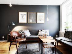 Swedish home via La Maison d'Anna G