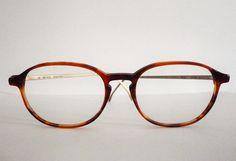 Vintage Eye Glasses Red Rose 108 Oval Pantos by GlassesVintage