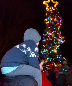 Christmas comes to Ladner Village Tree Lighting, 40 Years, Christmas Traditions, Weekend Is Over, Holidays And Events, Ships, Friday, Seasons, Island