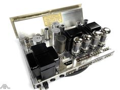 Restored Fisher KX-200 vintage tube amplifier. www.aeaaudio.com #audiophile #tubeamp Hi End, High End Audio, Hifi Audio, Vacuum Tube, Tecno, Audio Equipment, Audiophile, Espresso Machine, Technology