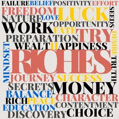 I discovered that becoming wealthy is not a matter of luck, fate or circumstance, but a direct consequence of obeying the guiding principles uncovered for you in RICHES - The 7 Secrets of Wealth you were never told. Get your copy of RICHES to find out more! #Riches #Money #wealth #mindset #freedom #success #choice #business #journey #rich #preparation #work #opportunity #seeds #love Wealth Creation, Character Education, Effort, Mindset, Opportunity, How To Find Out, Seeds, Freedom, The Secret