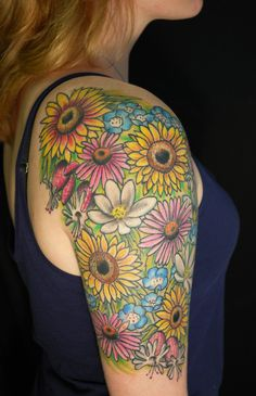 flower tattoo   Tumblr