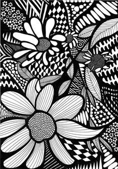 ColorIt Colorful Flowers Volume 1 Colorist Diane Cole