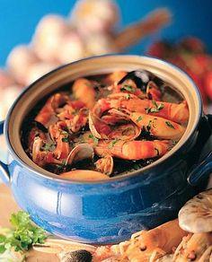 Zuppa di pesce alla ligure / Fish Soup from Liguria