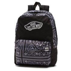 Vans X Star Wars Stormtrooper Realm Backpack ($43) ❤ liked on Polyvore featuring bags, backpacks, accessories, bolsos, mochilas, black, vans bag, logo bags, rucksack bag and zip handle bags
