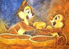 Chip & Dale fan art.