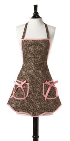 Cutest apron! Available in nylon too. Jessie Steele.