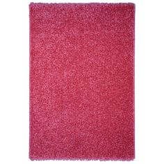 Soft Shag Pink Area Rug (6'7 x 9'3) - Overstock™ Shopping - Great Deals on 7x9 - 10x14 Rugs