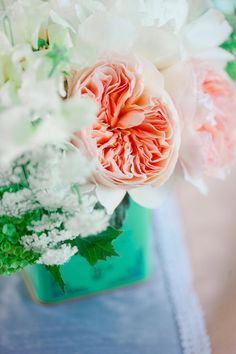 Pretty color scheme for a spring wedding.