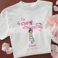 Flower Girl - Youth T-Shirt