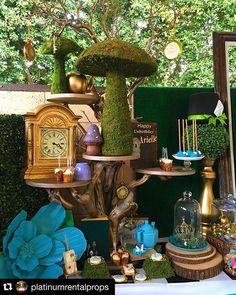 Alice in Wonderland set up ~ just amazing!