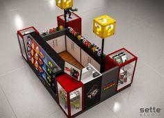 Basketball Shop, Mall Kiosk, Cell Phone Store, Kiosk Design, Star Fitness, Toy Chest, Nerd, Geek Stuff, Prints