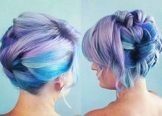 fancy+updo+for+lavender+and+blue+hair