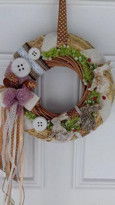Grapevine Wreath, 4th Of July Wreath, Grape Vines, Easter, Decorations, Wreaths, Door Wreaths, Vineyard Vines, Easter Activities