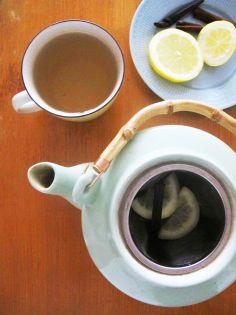 Tee with lemon
