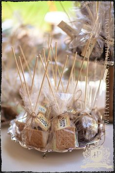 love this idea....then if we have a fire later everyone can make smores. Enjoy now or have s'more later!