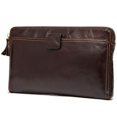 Check it on our site 100% Genuine leather Men's wallet vintage Cowhide Men Clutch Bag zipper Long wallet Hand Bag Large capacity male phone bag Purse just only $25.89 with free shipping worldwide  #walletsformen Plese click on picture to see our special price for you