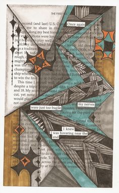 Blackout Poetry is so much fun and so easy to do. Find an old book, choose a page, select words from the page that reflect your feelings, . Blackout Poetry, Blackout Book, Poesia Visual, Found Poetry, Poetry Art, Poetry Quotes, Quotes Quotes, Pomes, Drawn Art