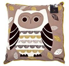 Sabichi Owl Cushion: Amazon