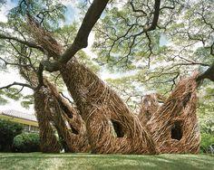 Парк музея современного искусства в Гонолулу, скульптор Патрик Доэрти