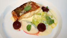 Steikt torsk med smørsaus