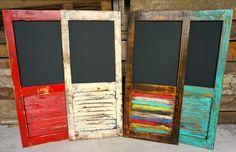 Shutter Chalkboard - Sofia's Rustic Furniture #sofias #rustic #furniture #home…